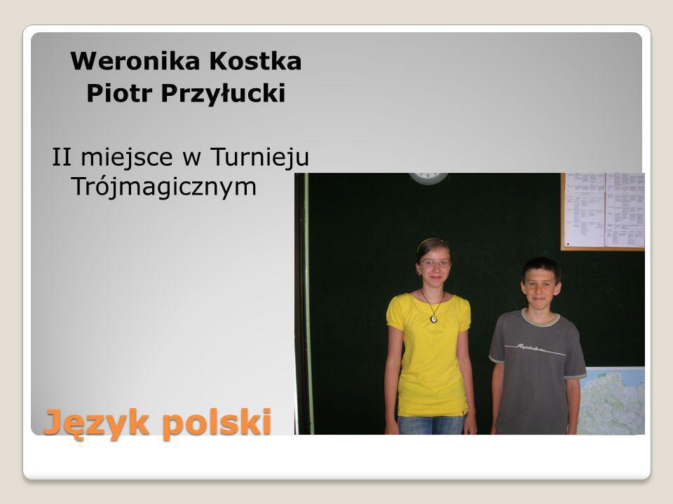 Weronika Kostka Piotr Przyłucki II miejsce w Turnieju Trójmagicznym
