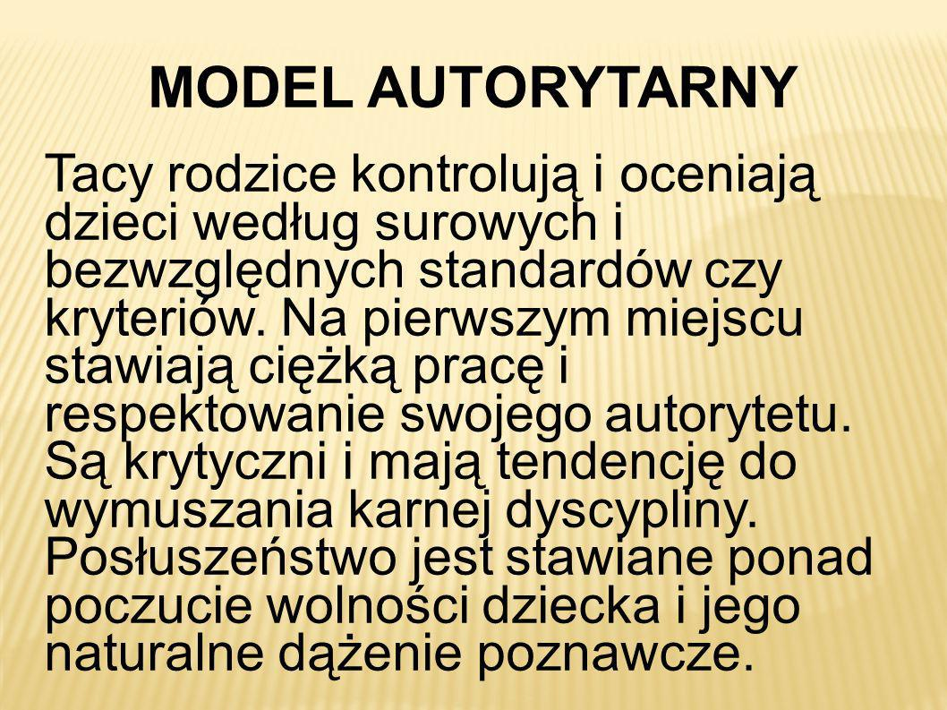 MODEL AUTORYTARNY