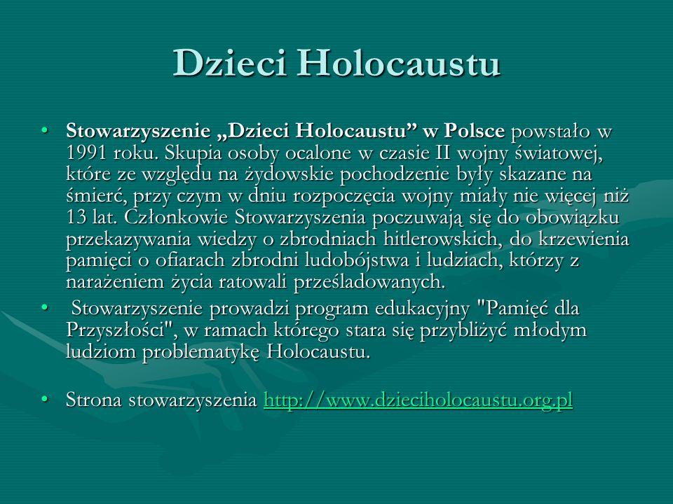 Dzieci Holocaustu