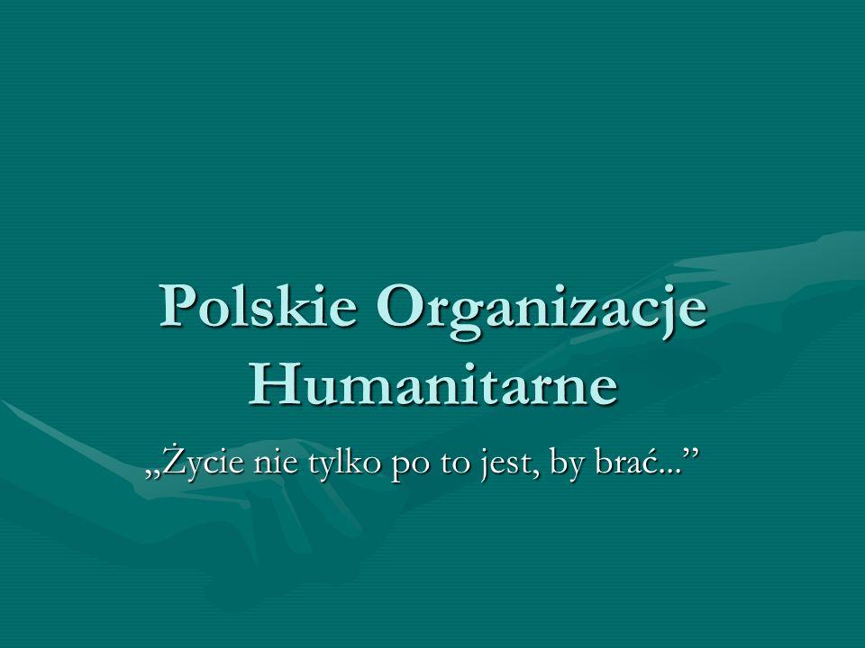 Polskie Organizacje Humanitarne