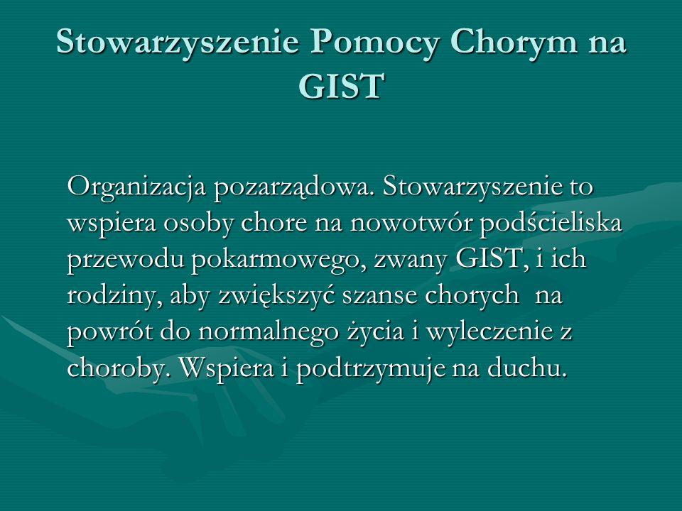 Stowarzyszenie Pomocy Chorym na GIST