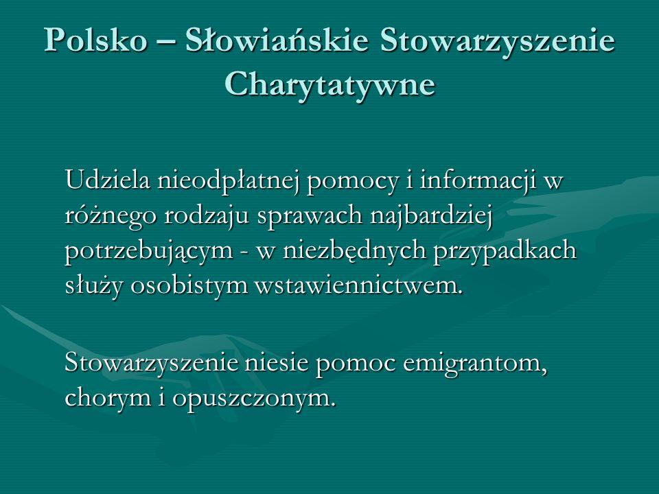 Polsko – Słowiańskie Stowarzyszenie Charytatywne