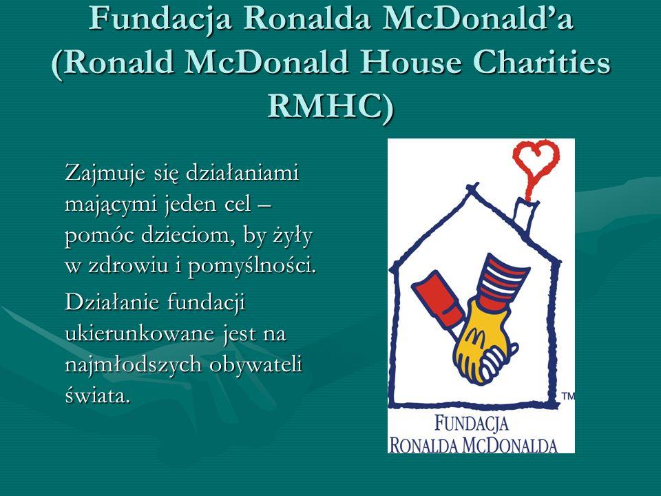 Fundacja Ronalda McDonald'a (Ronald McDonald House Charities RMHC)