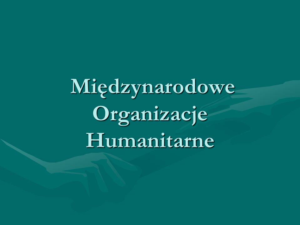 Międzynarodowe Organizacje Humanitarne