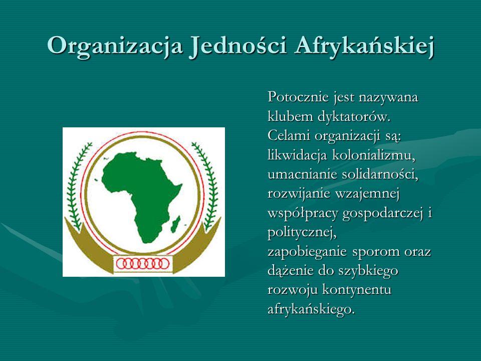 Organizacja Jedności Afrykańskiej