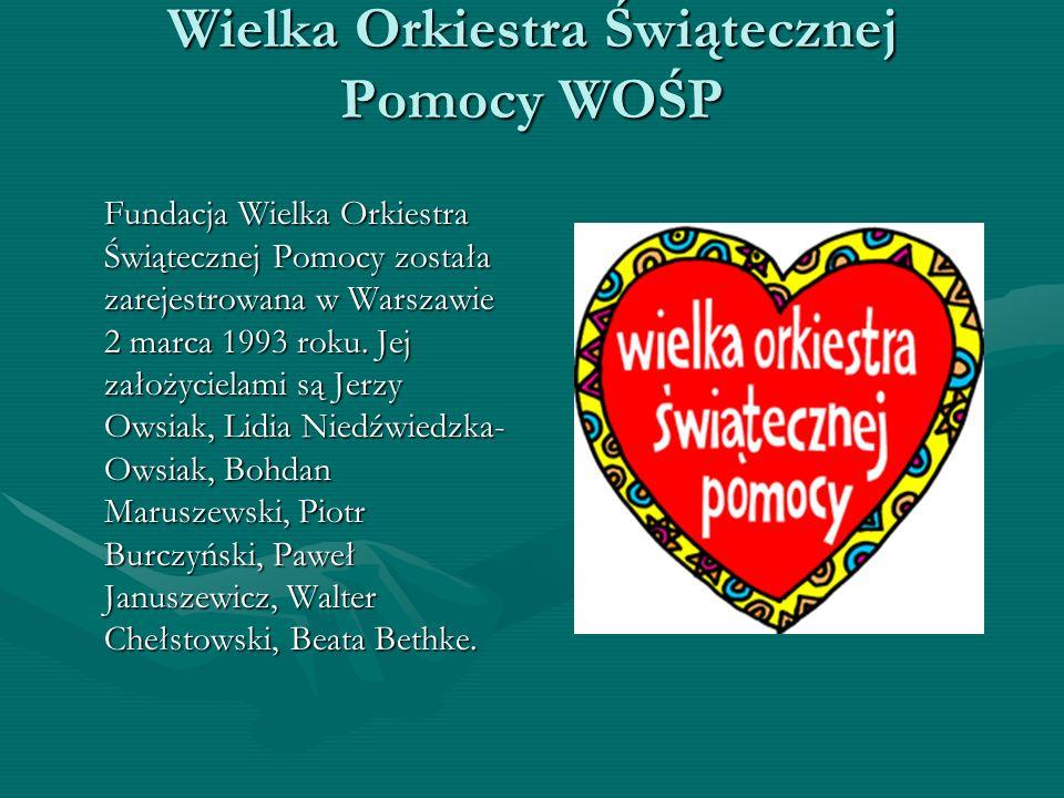 Wielka Orkiestra Świątecznej Pomocy WOŚP