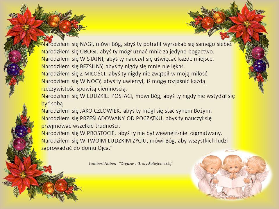 Narodziłem się NAGI, mówi Bóg, abyś ty potrafił wyrzekać się samego siebie.