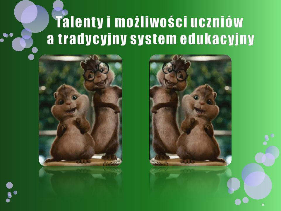 Talenty i możliwości uczniów a tradycyjny system edukacyjny