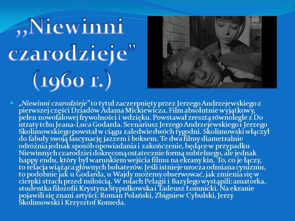 ,,Niewinni czarodzieje (1960 r.)
