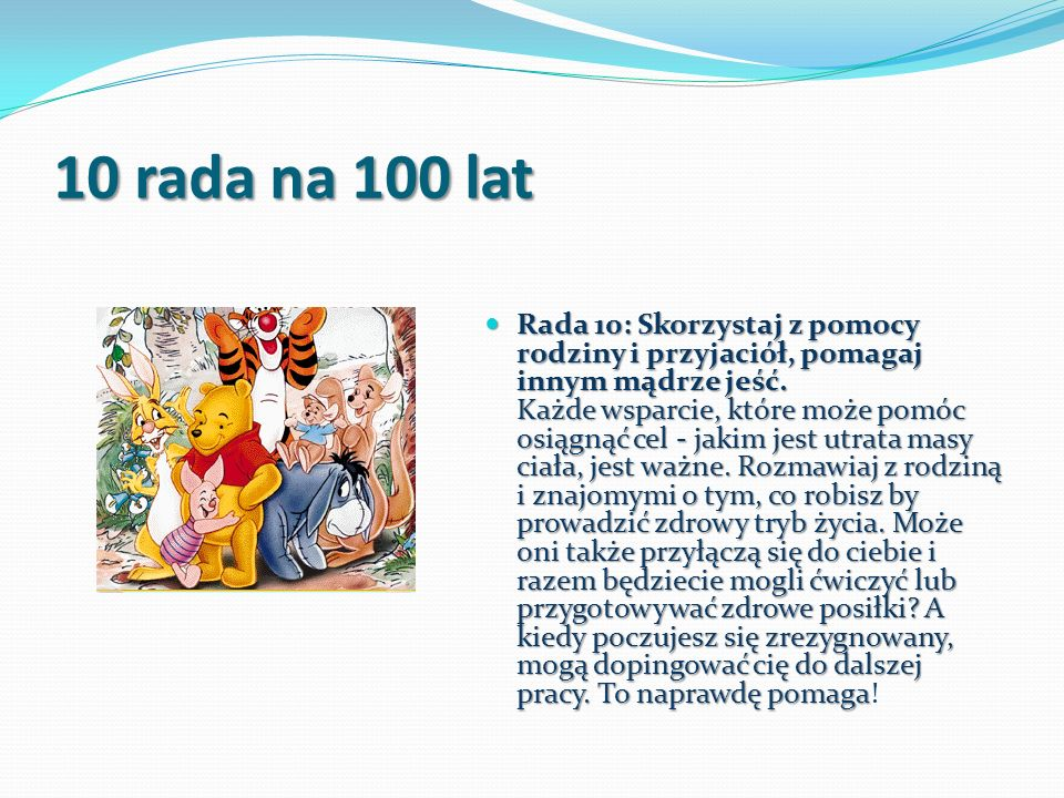 10 rada na 100 lat
