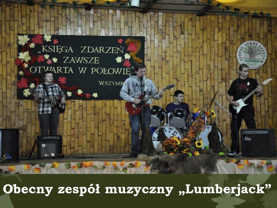 """Obecny zespół muzyczny """"Lumberjack"""