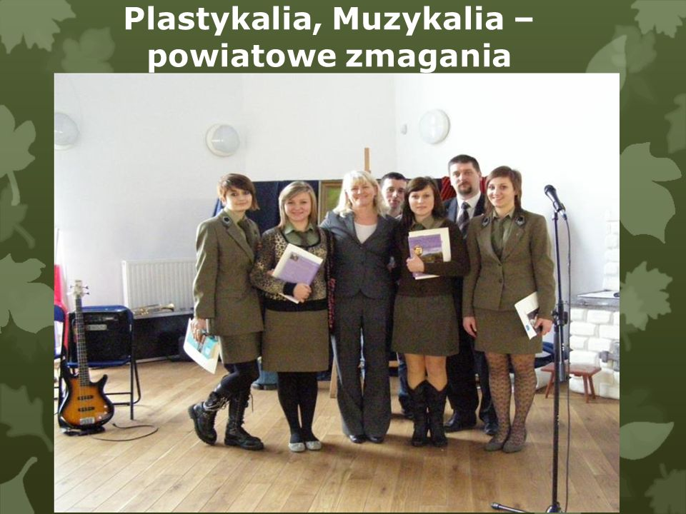 Plastykalia, Muzykalia – powiatowe zmagania