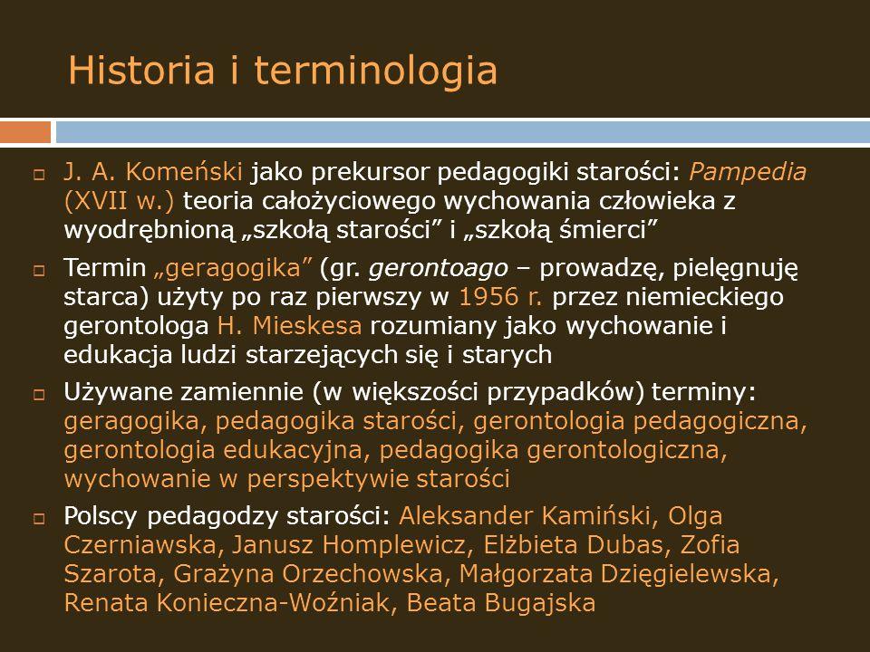 Historia i terminologia
