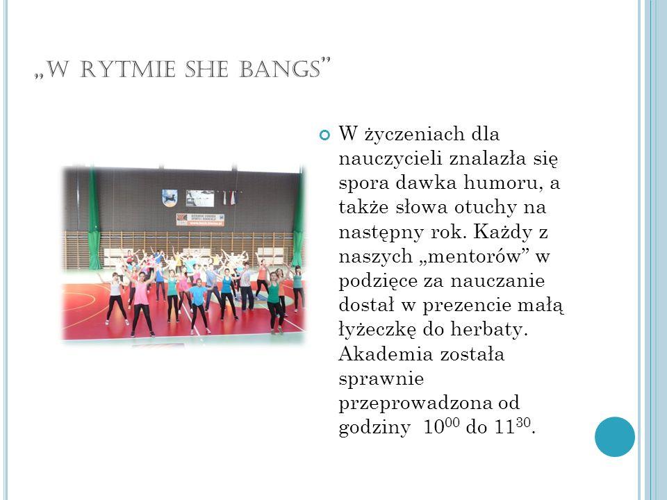 """""""w rytmie she bangs"""