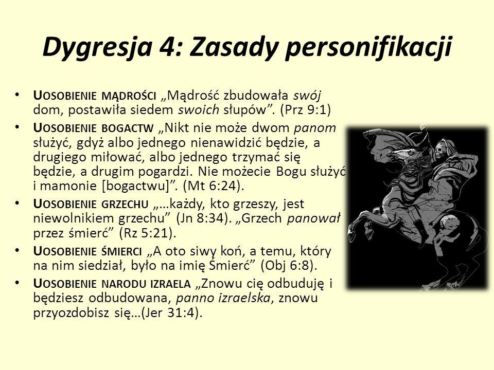 Dygresja 4: Zasady personifikacji