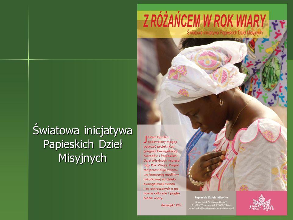Światowa inicjatywa Papieskich Dzieł Misyjnych
