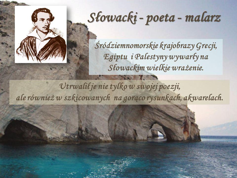 Słowacki - poeta - malarz