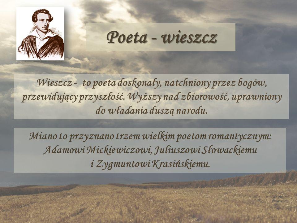 Poeta - wieszcz