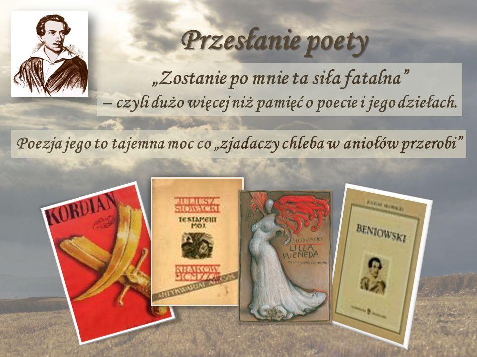 """Przesłanie poety """"Zostanie po mnie ta siła fatalna – czyli dużo więcej niż pamięć o poecie i jego dziełach."""