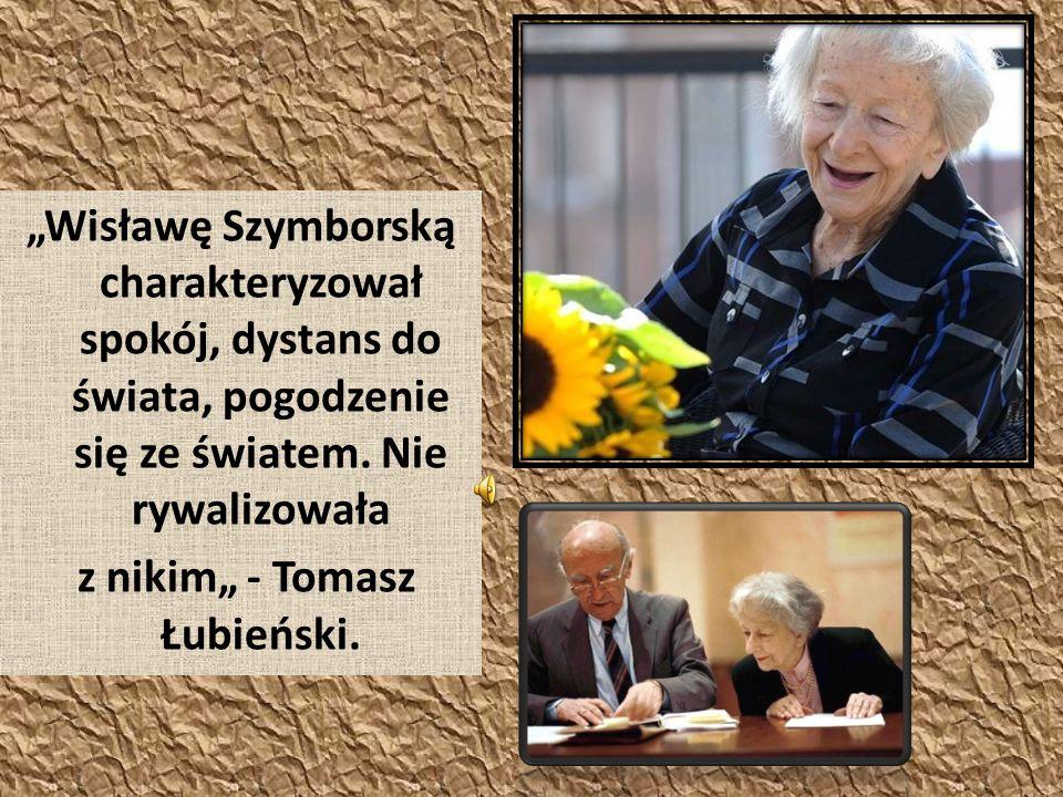 """z nikim"""" - Tomasz Łubieński."""