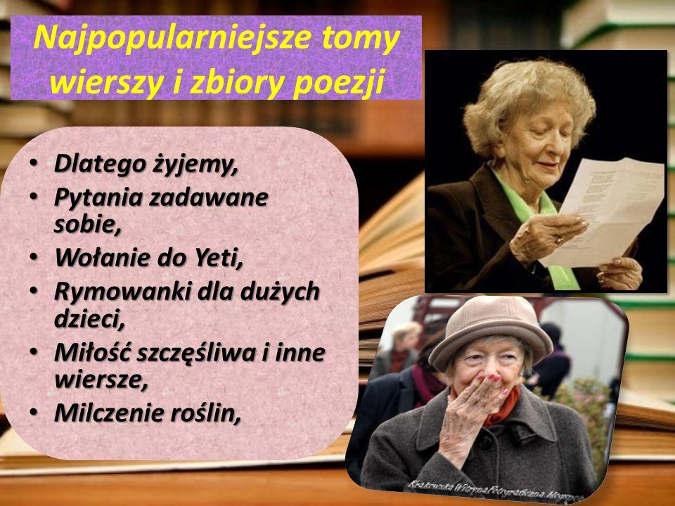 Najpopularniejsze tomy wierszy i zbiory poezji