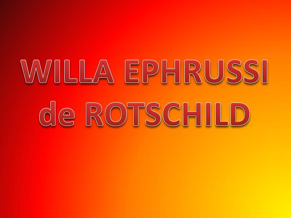 WILLA EPHRUSSI de ROTSCHILD