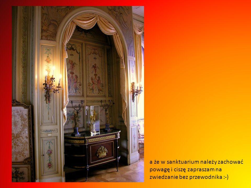 a że w sanktuarium należy zachować powagę i ciszę zapraszam na zwiedzanie bez przewodnika :-)