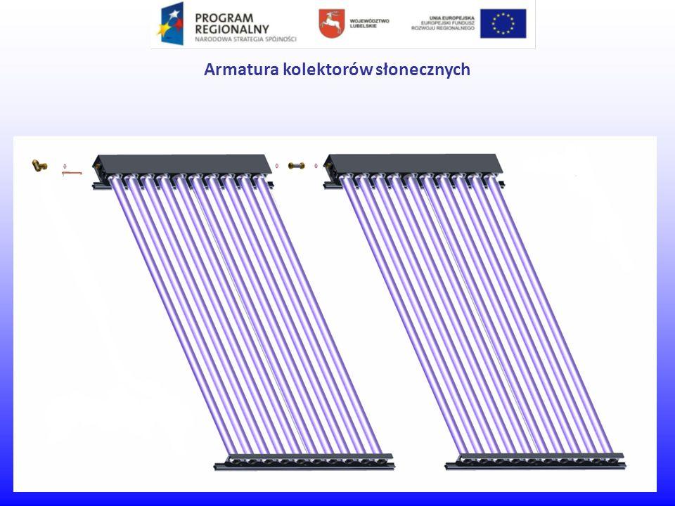 Armatura kolektorów słonecznych