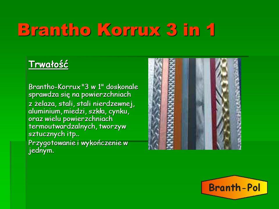 Brantho Korrux 3 in 1 Trwałość