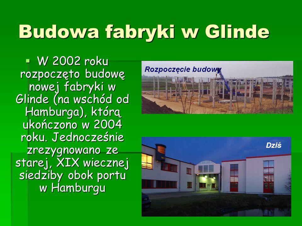 Budowa fabryki w Glinde