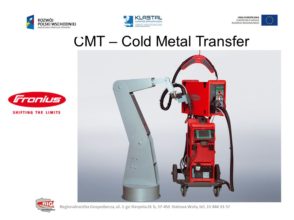 CMT – Cold Metal Transfer
