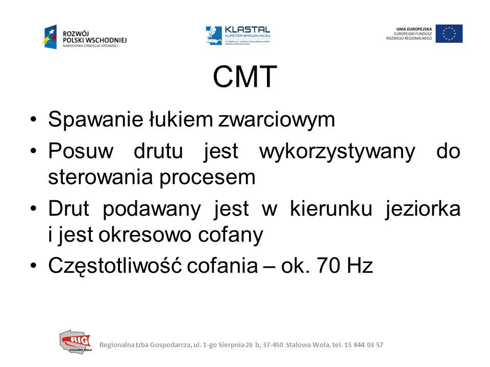 CMT Spawanie łukiem zwarciowym