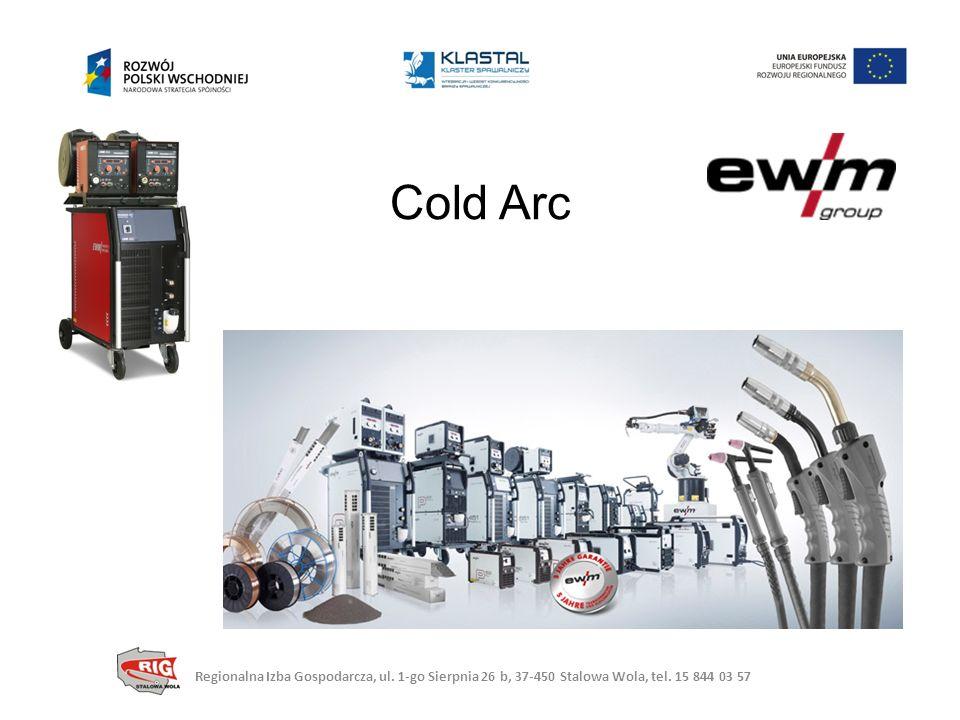 Cold Arc Regionalna Izba Gospodarcza, ul. 1-go Sierpnia 26 b, 37-450 Stalowa Wola, tel.