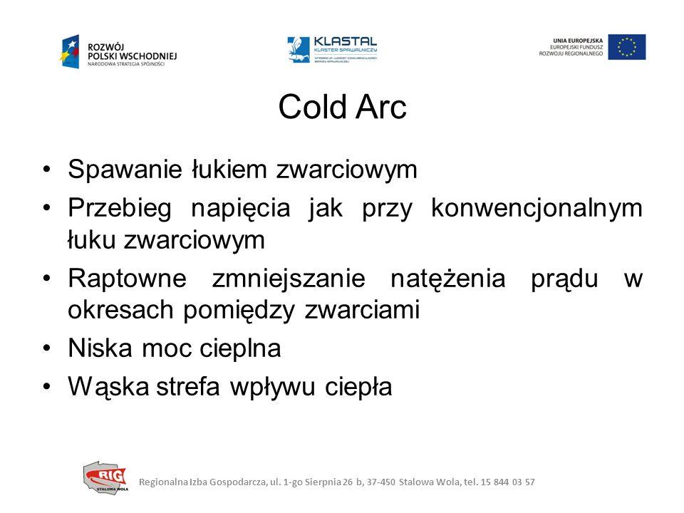 Cold Arc Spawanie łukiem zwarciowym