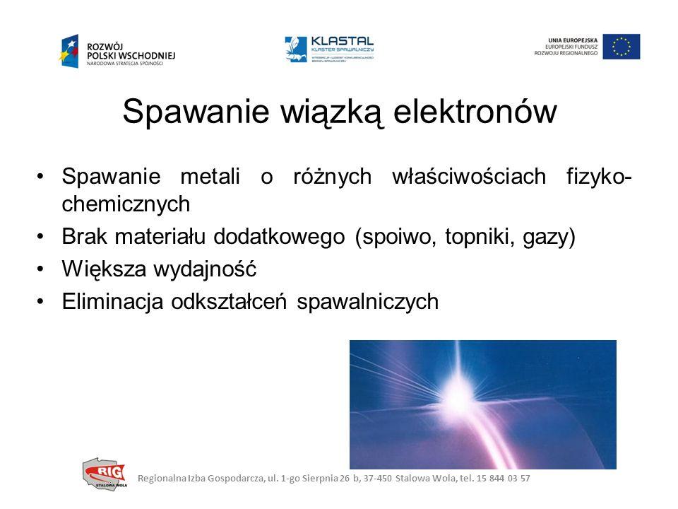 Spawanie wiązką elektronów