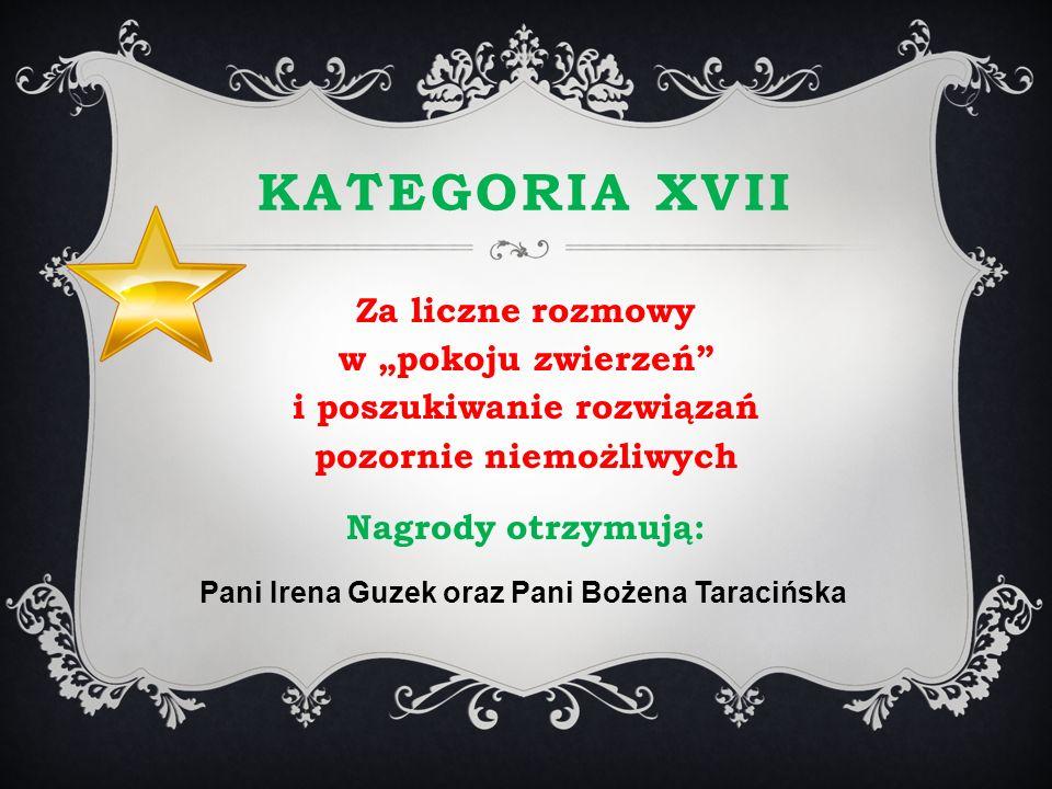 Pani Irena Guzek oraz Pani Bożena Taracińska