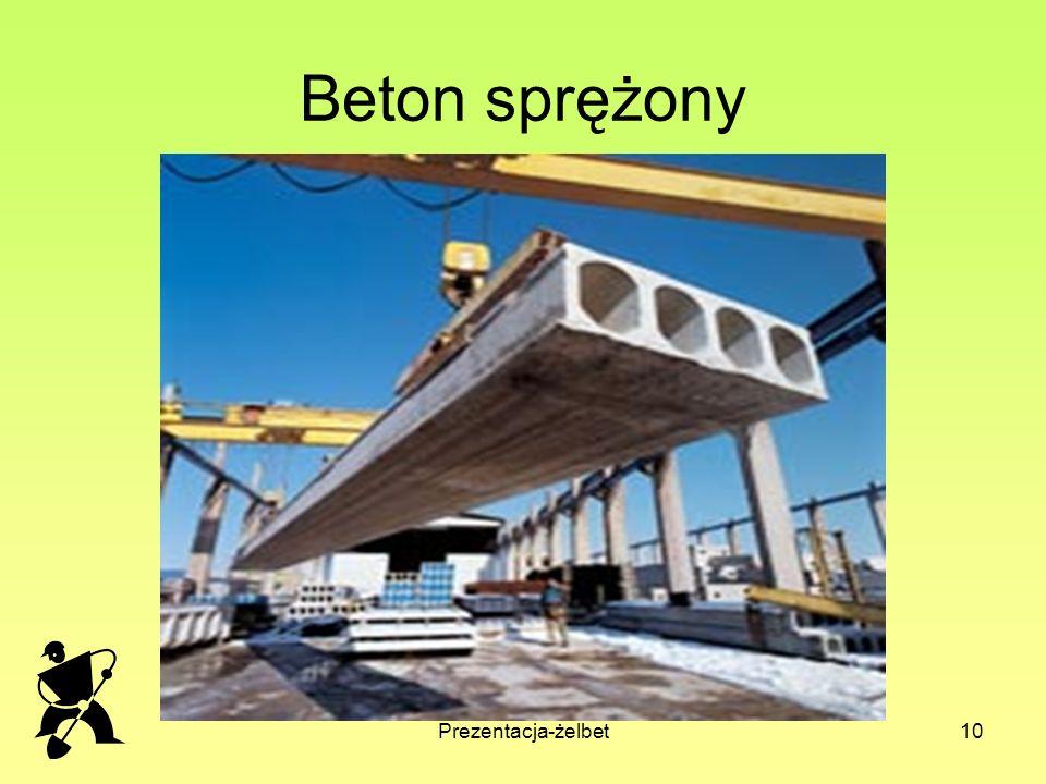 Beton sprężony Prezentacja-żelbet