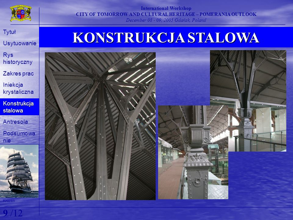 December 08 - 09, 2005 Gdańsk, Poland