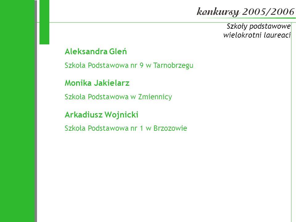 72 Aleksandra Gleń Monika Jakielarz Arkadiusz Wojnicki
