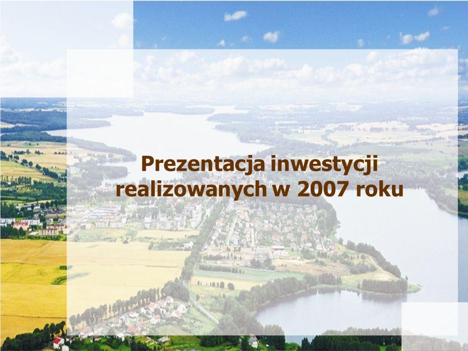 Prezentacja inwestycji