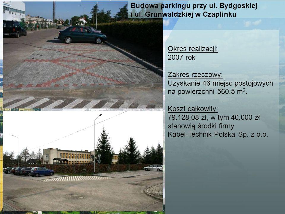 Budowa parkingu przy ul. Bydgoskiej