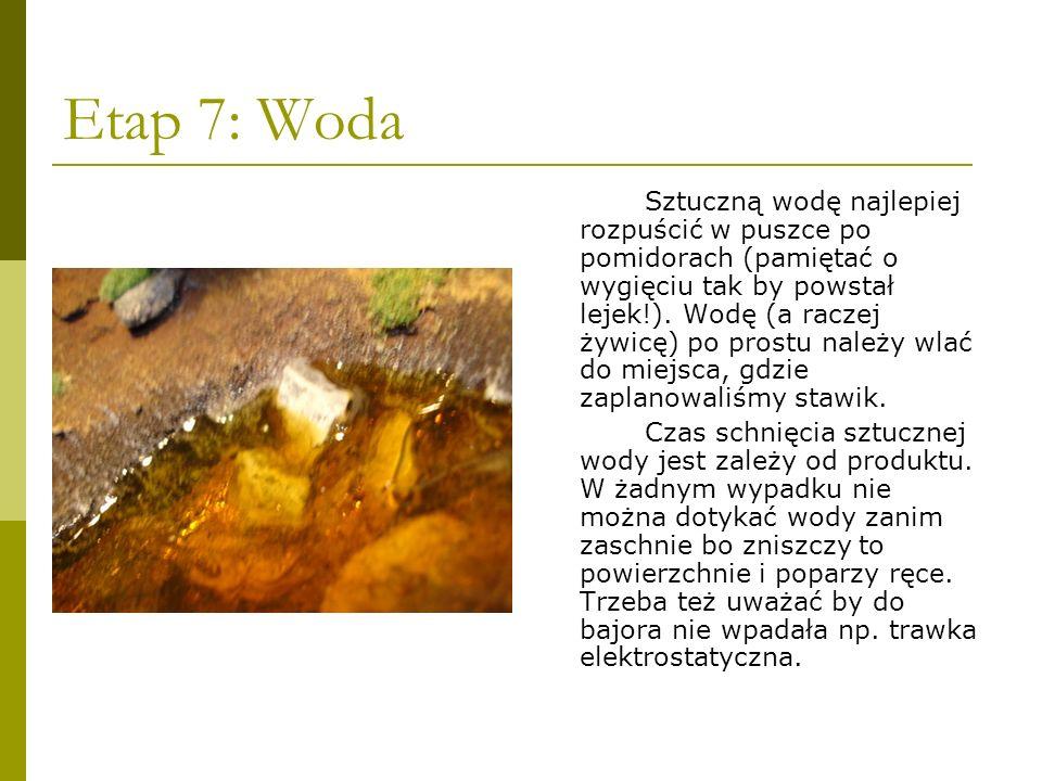 Etap 7: Woda