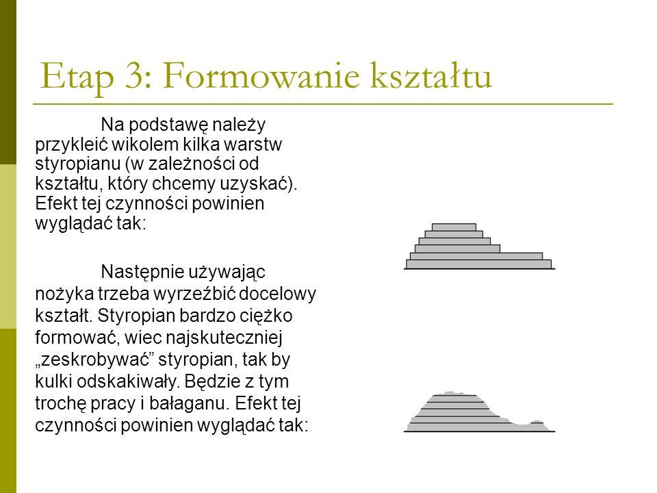 Etap 3: Formowanie kształtu
