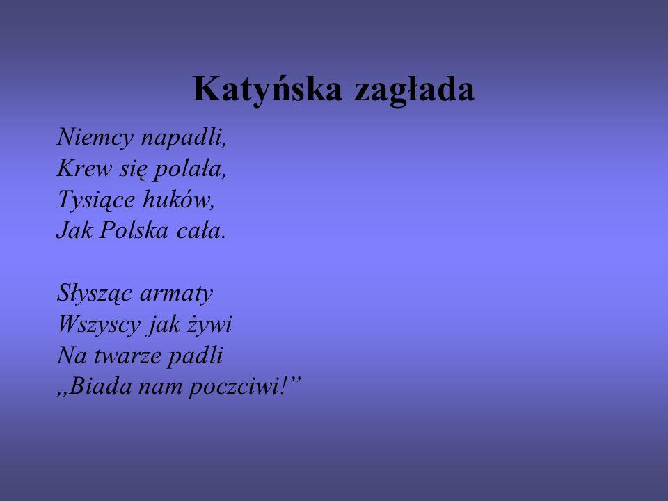 Katyńska zagłada