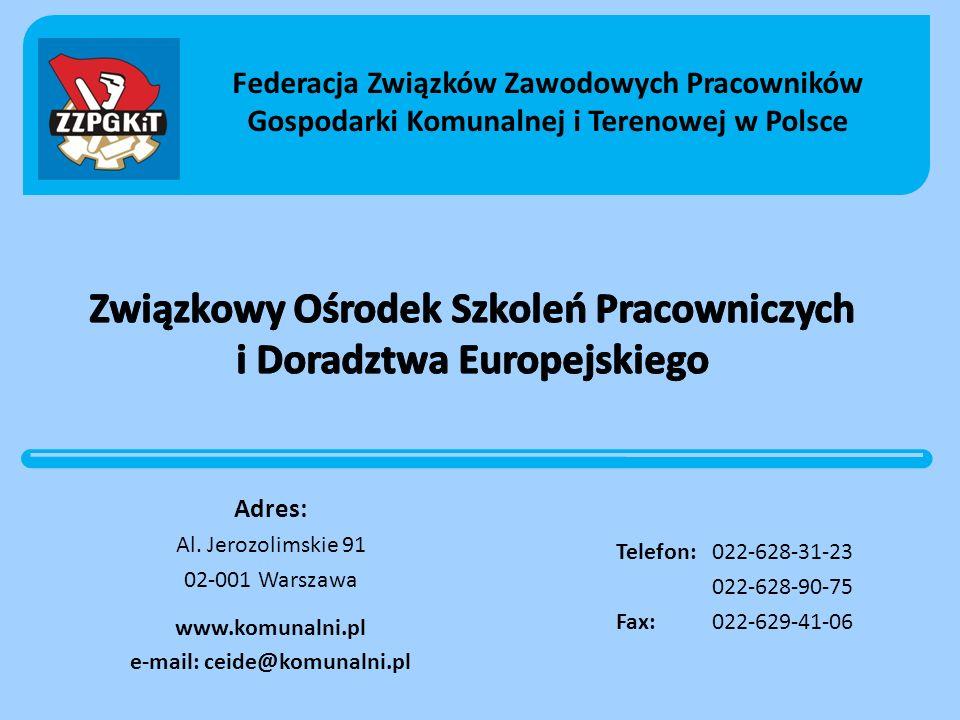 Związkowy Ośrodek Szkoleń Pracowniczych i Doradztwa Europejskiego