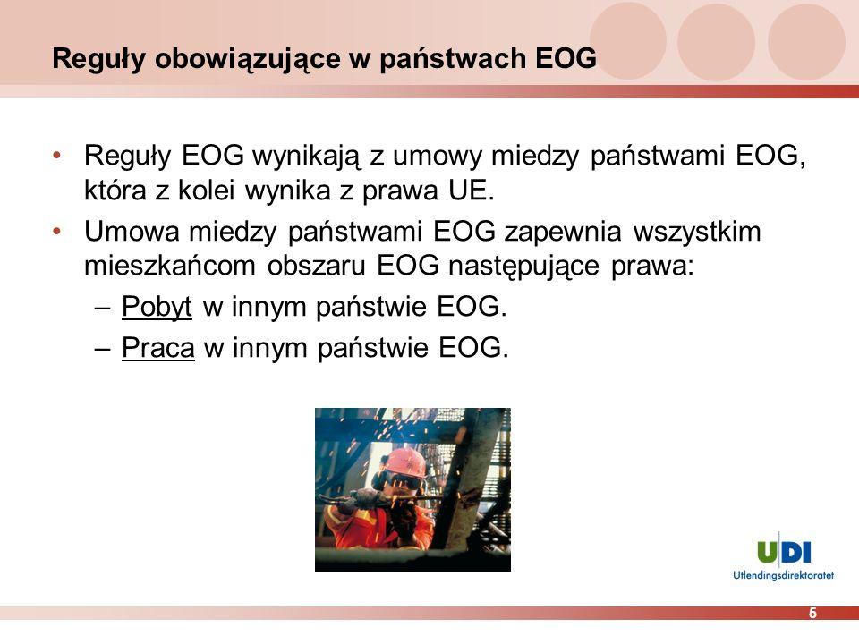 Reguły obowiązujące w państwach EOG