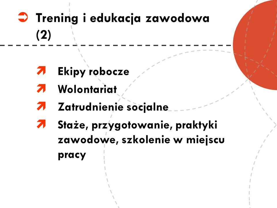 Trening i edukacja zawodowa (2)
