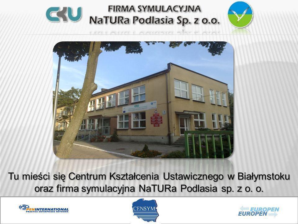 Tu mieści się Centrum Kształcenia Ustawicznego w Białymstoku oraz firma symulacyjna NaTURa Podlasia sp.