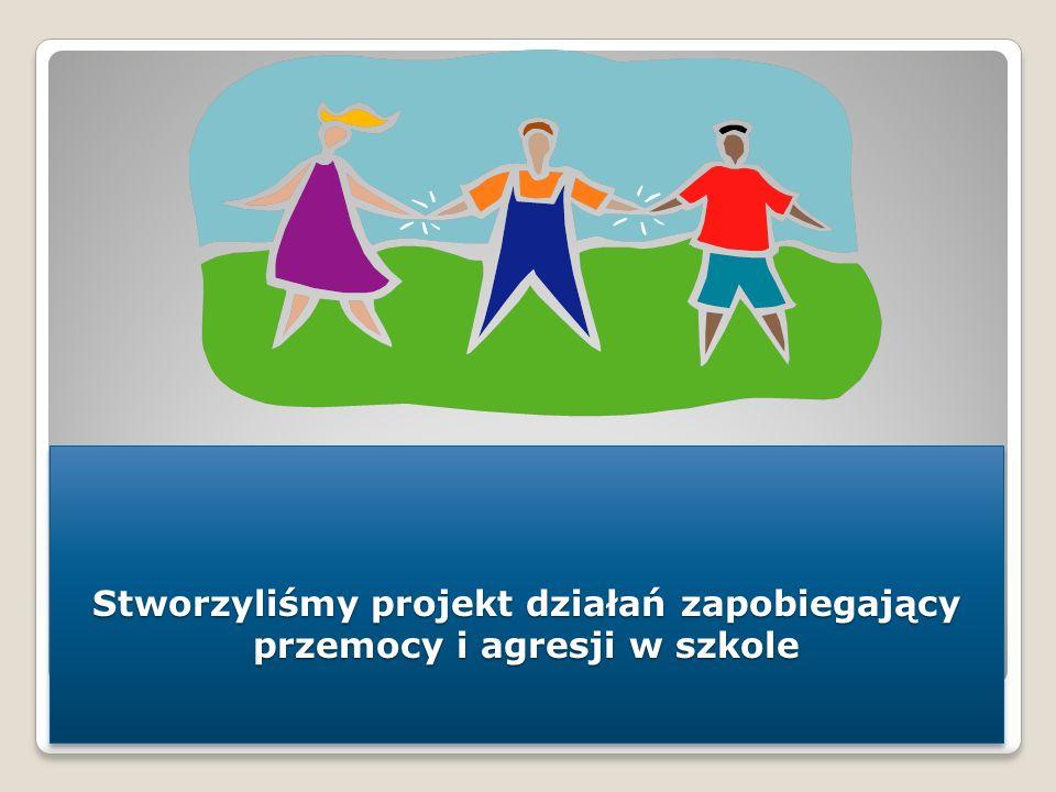 Stworzyliśmy projekt działań zapobiegający przemocy i agresji w szkole
