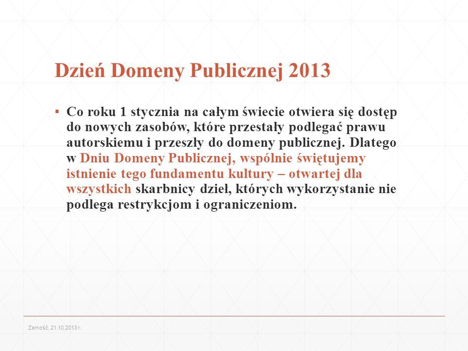Dzień Domeny Publicznej 2013